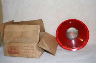 GREAT FIND IN GRAMPAS BARN B7A 13450 B REAR TAIL LIGHT LENS COVER 1957