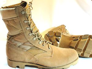 Mens Military Desert Boots ALTAMA 13W Tan Hot Weather Work Boots