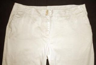 Charter Club Allison Fit Beige Khaki Stretch Pants 14P Petite 28