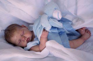 Nod Baby Boy anatomically correct Kit by Donna Rubert for reborn