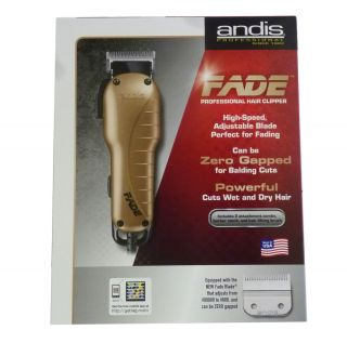 Andis Professional Fade Hair Clipper Cutter Haircutting Barber Salon