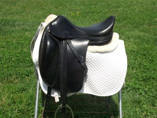 Amerigo Vega Monoflap 17 Dressage Saddle