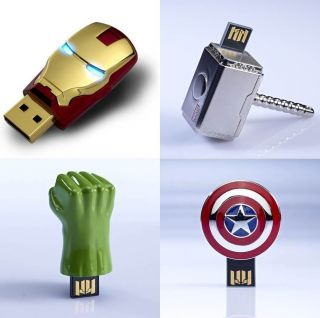 USB Flash Drive 8GB The Avengers Assemble Iron Man Hulk Thor Captain