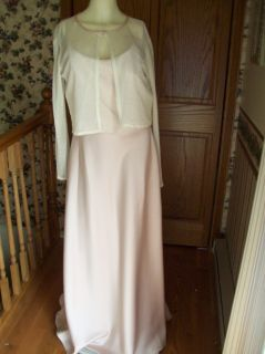 Alfred Angelo 13 14 Bridesmaid Mother Bride Dress Pink