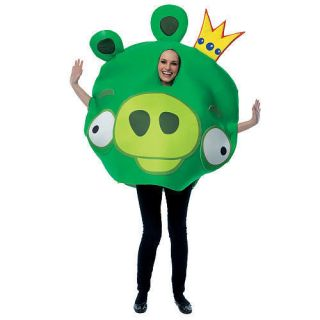 Angry Birds King Pig Halloween Costume   Adult Size #zMC