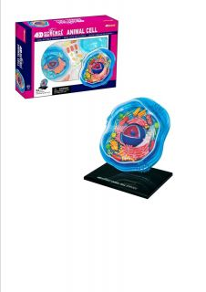Tedco 4D Science Animal Cell Anatomy Model Ages 8 26700 New