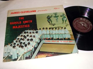 Cleveland Presents The Harold Smith Majestics Stereo Savoy LP