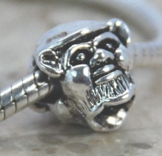 Silver European Bead 4 Bracelet Charm Animal Creature 9 Styles