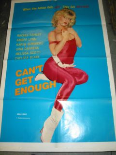 Get Enough Original U s One Sheet Movie Poster Adult Amber Lynn