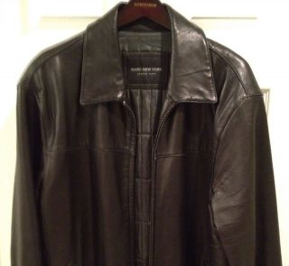Andrew Marc Insulated Leather Jacket