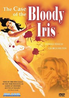 the Bloody Iris, New DVD, Edwige Fenech, George Hilton, Annabella In