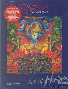 Santana Live Montreux Hymns for Peace 2 DVD Set 183 Minutes Long New