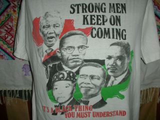 MARTIN LUTHER KING JR MALCOLM X MAYA ANGELOU NELSON MANDELA T SHIRT