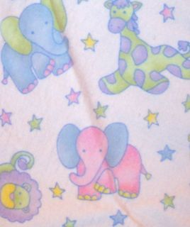 Circus Animal Silky Security Blanket Lovie Silkie Lovey
