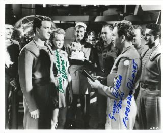 Forbidden Planet Anne Francis George Wallace Autograph