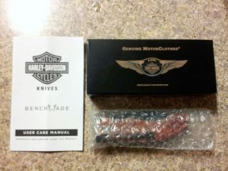 110th Anniversary Harley Davidson knife in 110th box  FREE