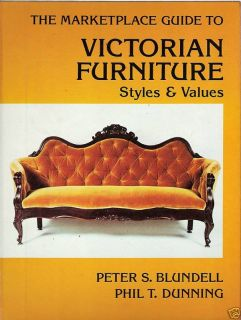 Marketplace Guide Antique Victorian Furniture Styles Values Peter