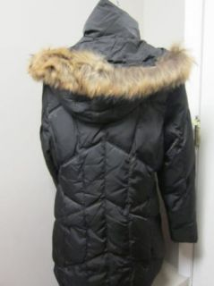 Andrew Marc Embrace Coat w/ Fur Trim Hood Blacks XL NWT