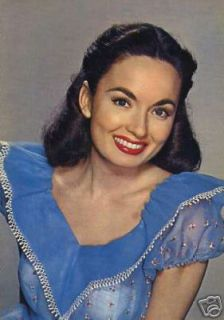 Ann Blyth Movie Actress Vintage Colour Postcard