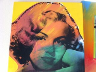saleMARILYN MONROE BY STEVE KAUFMAN (ASST. TO ANDY WARHOL)