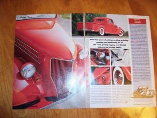 original 1935 ford pickup truck hot rod article time left