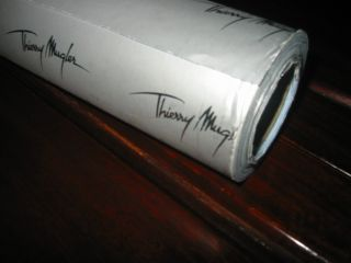 Thierry Mugler Angel DESIGNER Holiday GIFT WRAP Paper 27 yds NEW