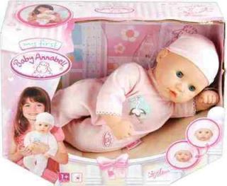 My First Baby Annabell Girl Doll with Closing Eyes Brand New Boxed