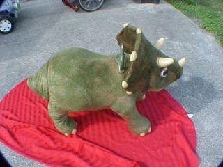 Kota Playskool My Triceratops Dinosaur Animated Ride on Big 45 x 30