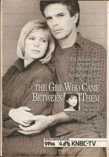TV Ad Cheryl Ladd Anthony John Denison in The Girl Who Came Between