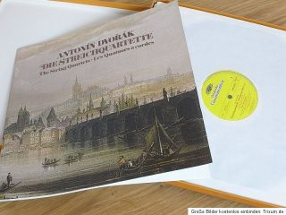 Dvorak Complete String Quartets DGG 12 LP Box Prague String Quartet