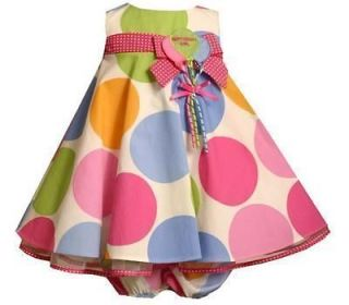 Bonnie Jean Baby Girls Boutique Polka Dot 1st or 2nd Birthday Party