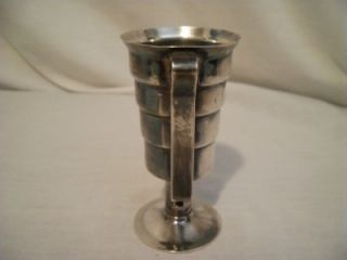 Antique Napier Sterling Silver Jigger Drink Measuring Bar Cup Scrap 94