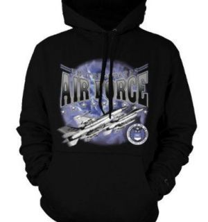 United States Air Force Sweatshirt USAF Fighter Jets Pullover Hoody