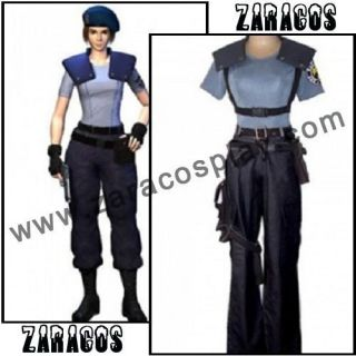 Resident Evil 5 Jill Valentine Anime Cosplay Costume Costum Made