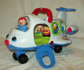fisher price little people lil movers airplane toy time left