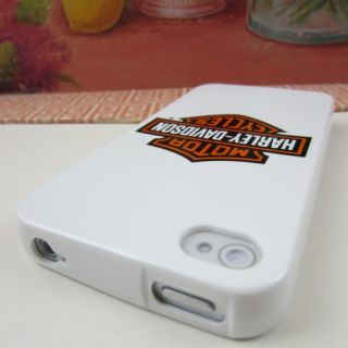 Apple iPhone 4 4S 4G Harley Davidson Rubber Silicone Skin Case Phone