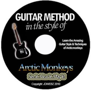 Arctic Monkeys Guitar Tab Software Lesson CD + Free Bonuses