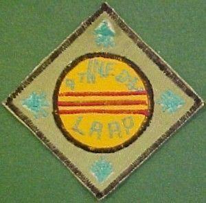4th infantry division lrrp vietnam patch  11