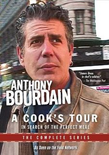 Anthony Bourdain A Cooks Tour The Complete Series DVD 2012 6 Disc Set