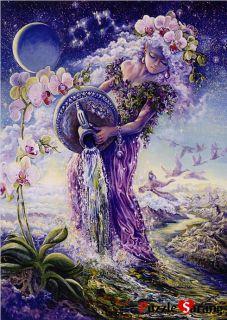 Puzzles 500 Pieces Constellation Aquarius Josephine Wall