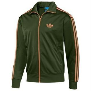 Adidas Originals Firebird Track Top Jacket 2XL OLIVE GREEN