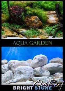 36 x 18 Aquatic Plant Garden Stone Aquarium Background