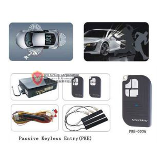 car passive keyless entry security alarm system remote from china