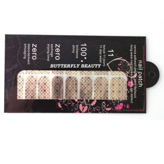 Nail Art Sticker Foils Patch Armour Manicure Decoration V098