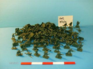 Army Men Toy Soldier Set Smaller One inch 1 72 Figures 1 New Plastic