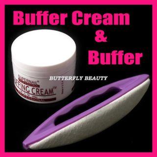 Buffer Buffing Cream Nail Art Tools Varnish Polish D139