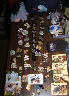 Disney Pin Collection Rare Pins, Eeyore Collection plus more