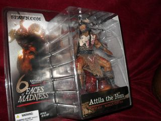 McFarlane 6 Faces of Madness Attila The Hun Figure