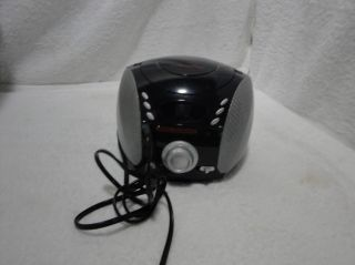 Audio Solutions Portable Stereo Am FM Radio Compact Disc CD Player