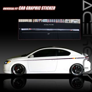 Auto Body Graphic Sticker Decal Honda S2000 Civic SI EX